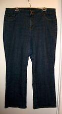 Nine 9 West Women's Jeans - Plus Size 20W - Dark Blue - Cotton Spandex Stretch