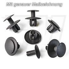 5x disfraz clips de fijación soporte para mercedes benz | a2309900192