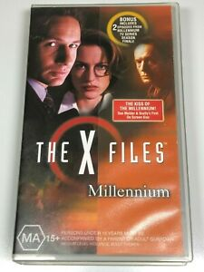 The X Files VHS Video Tape x3 Titles VIA DOLOROSA/GOODBYE TO ALL THAT/MILLENNIUM