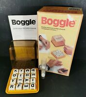 Boggle 3 Minute Word Game by Parker Complete Yellow
