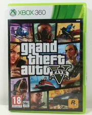 Grand Theft Auto V 5 GTA 5 -Xbox 360 Game Near Mint Condition Complete + Map PAL