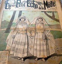 *VTG 1920s PARIS FASHION & SEWING PATTERN CATALOG LE PETIT ECHO de la MODE 1923