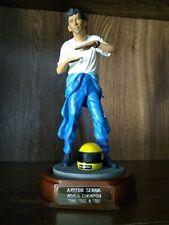 Ayrton Senna Formula 1 Champion 1:9 Statue 1994 Endurance 2500 Produced COA RARE