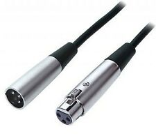 NEW 10 lot 20 ft XLR male to female mic extension cable