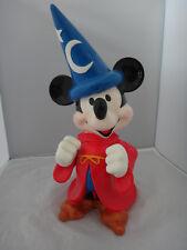 "New listing Disney Mickey Mouse The Sorcerer's Apprentice Fantasia Musical Figurine 12"" Rare"