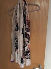 Lola Rose Large Butterfly 100% Wool Scarf - New