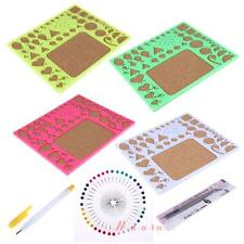 4pcs Starter DIY Tool Paper Quilling Rolling Tools Kit Mould Needle Board Pen