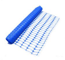 5mx1m Blue Plastic Safety Barrier Netting/Mesh Fencing on Site or Events 5.5kg