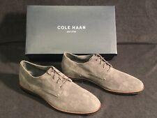 New Men's 11 Cole Haan Aerocraft Grand Plain Toe Oxford # C29813 Magnet Suede