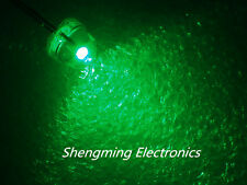 1000PCS 5mm Straw Hat LED Green Light Colour LED  Diffused