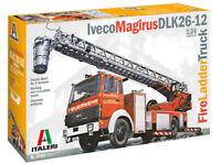ITALERI 1:24 IVECO MAGIRUS DLK26-12 FIRE LADDER TRUCK VIGILI DEL FUOCO ART. 3784