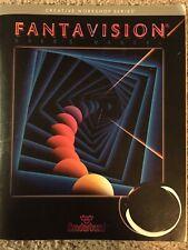 Broderbund Fantavision  Manual For Apple  1985