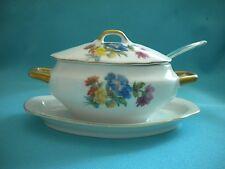 Vintage Condiment Dish - Hand Painted Lefton China