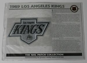 1989 Los Angeles Kings NHL Hockey Willabee & Ward Patch 68665