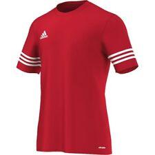adidas Entrada 14 Short Sleeve Jersey Kids Red White 128
