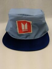Isuzu Car Factory Vintage Cloth Workers Cap Patch Logo Elastic Hat TAGO Tokyo