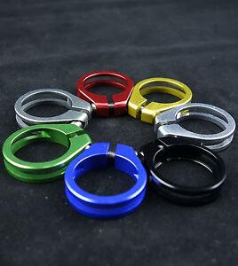 J&L Titanium bolt Seatpost Clamp/Collar 31.8MM/34.9MM-10g-Ti-Super Light