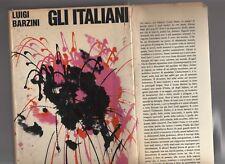 luigi barzini - gli italiani - prima edizione mondadori settembre 1965