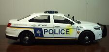 Key West Florida Police 2013 Ford Police Interceptor 1:24 Scale, New in Box