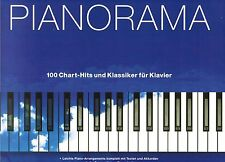 Klavier Noten : PIANORAMA - 100 Chart-Hits und Klassiker leMi-Mittel