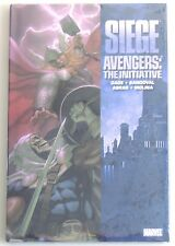 ESZ2528. Marvel Comics Siege: Avengers - The Initiative HC Graphic Novel (2010)
