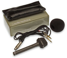 Audio-Technica AT822 Stereo Condenser Field Recording TRS 3.5mm Camcorder Mic