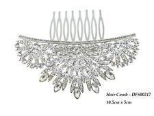 DESIRE ACCESSORIES Art Deco Style Statement Bridal Prom Haircomb UK SELLER