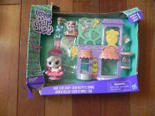 Littlest Pet Shop Shake'n Dry Salon Series 1 Sada Scottsfield 1-101 New in box