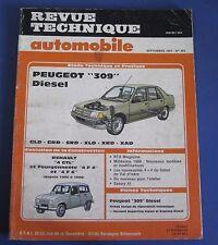 Revue technique  RTA 483 peugeot 309 diesel
