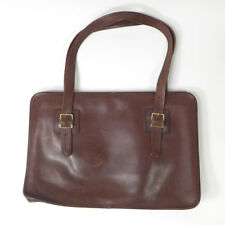 """Vintage Brown MICHAEL GREEN Professional High Quality Leather Briefcase Bag 17"""""""