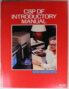Ohio Scientific OSI C8P DF Introductory Manual