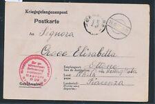 19724) Kriegsgefangenenpost Karte Stalag XIII D Nürnberg- l. 2.11.43 > Italien