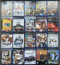 Playstation 2 Spiele Auswahl GTA Tomb Raider Harry Potter EyeToy FIFA PS2