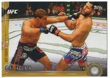2015 Topps UFC Chronicles Gold Parallel /88 #164 Al Iaquinta