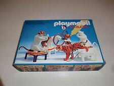 Playmobil Klicky 3646 Circo Circus Gestire Tigre Domatore Colore conf. orig.