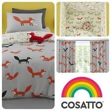Cosatto MISTER FOX Baby Toddler Bedroom Set Duvet Cover Set, Grow Bag & More