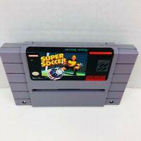 Super Soccer Super Nintendo Entertainment System SNES Cartridge Video Game Only