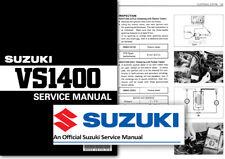 Suzuki VS1400 Intruder Boulevard C83 Workshop Service Shop Manual VS 1400 88 02