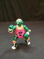 Vintage Teenage Mutant Ninja Turtles TMNT Shell Slammin Wrestling Michaelangelo