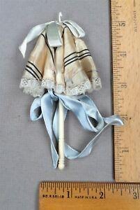 Antique Umbrella-Shaped Sewing Item: Bovine Bone Crochet Hook / Needle Holder