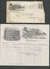 DATED 1918 COVER PITTSFIELD MA THE BERKSHIRE SHOE CO W/BILLHEAD SEE INFO