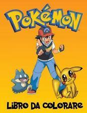 Pokemon Libro Da Colorare : Un Grande Libro Da Colorare Sui Personaggi...