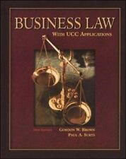 Business Law with UCC Applications by Gordon W. Brown and Paul Sukys (2000, Hard