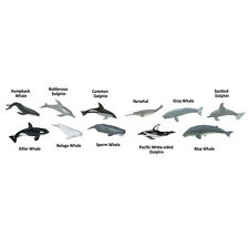 Whales and Dolphins Toob Mini Figures Safari Ltd NEW Toys Educational Figurines