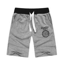 Summer Men Gym Sports Jogging Cotton Shorts Pants Trousers Casual Half Pants L