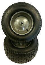 "Set of (2) 16X6.50-8 Tire & Rim 3/4"" Diameter 2 Ply Tube Type Wheels Tires Keyed"
