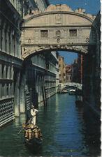 Alte Postkarte - Venedig - Die Seufzerbrücke