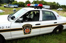 Pennsylvania State Trooper Police Car 1/64th HO Scale Slot Car Decals