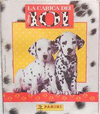 ALBUM FIGURINE LA CARICA DEI 101 CON 99/180 PANINI  STICKERS 1997 CON CARTOLINA