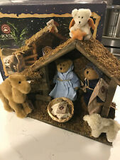 boyds bears nativity scene retired 2006